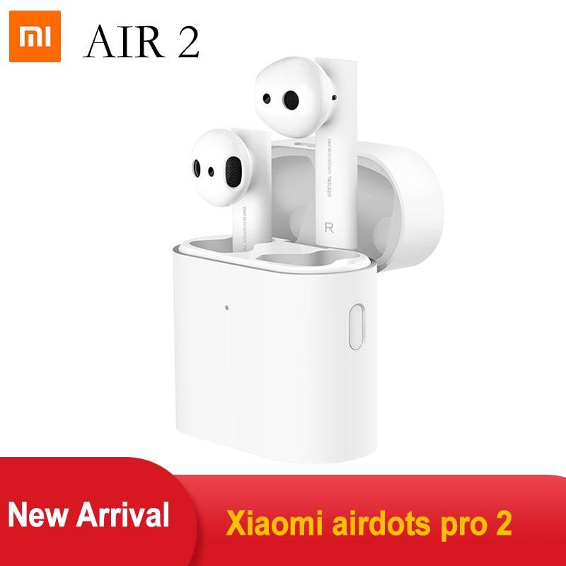 New Xiaomi Airdots Pro Air 2 Mi TWS Earbuds True Wireless Earphone Bluetooch 5.0  LHDC HD Sound Quality Dual MIC ENC