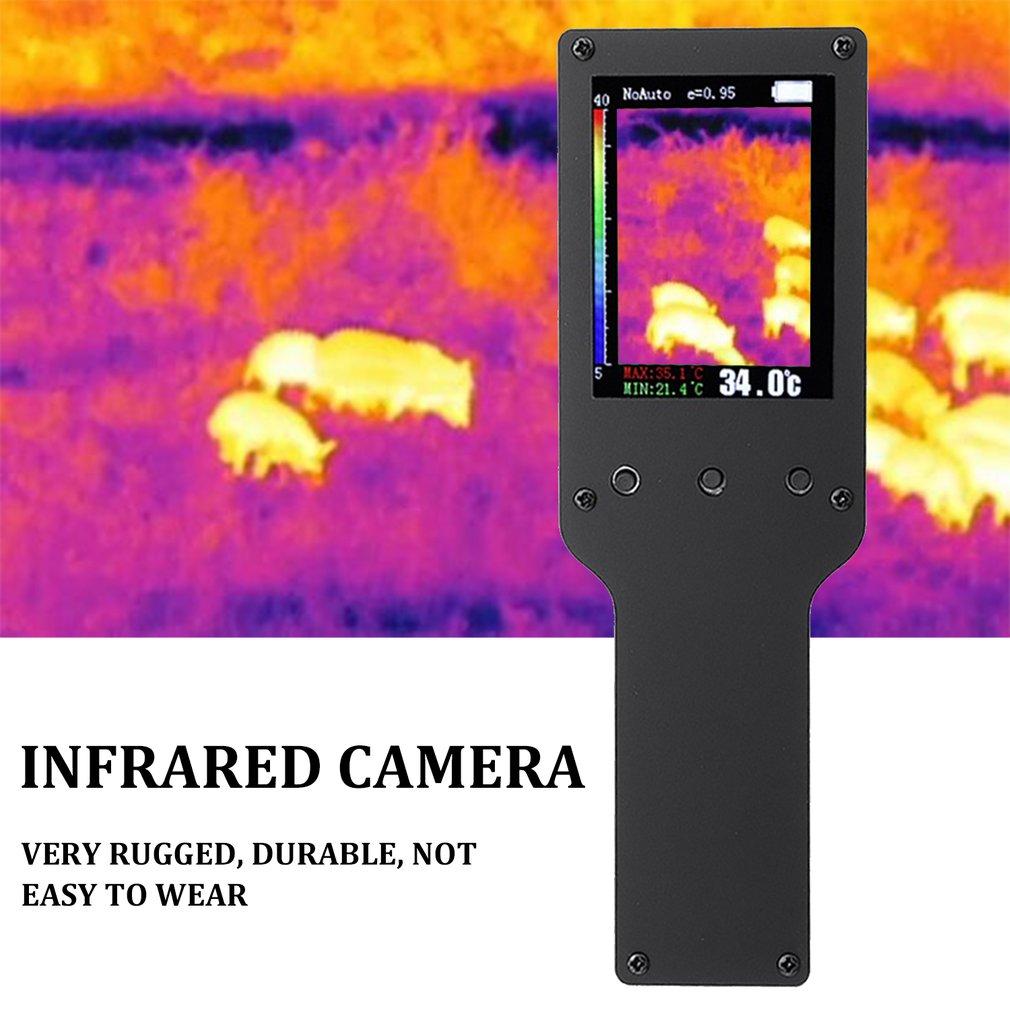 240X320 High-Resolution Infrared Thermal Imager with Color Display for Clear Reading