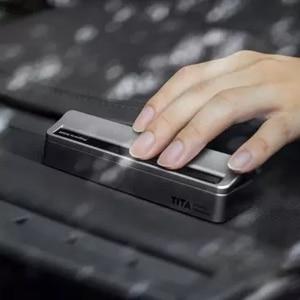 Image 5 - Xiaomi TITA manyetik dur işareti otopark kartı araba taşıma floresan telefon numarası Sticker Stereo ters görünmez