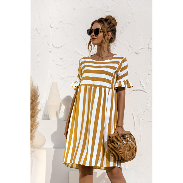 striped country dress 4