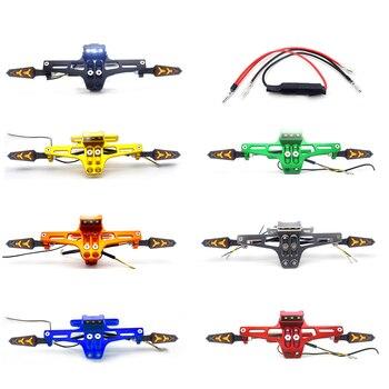 FOR Kawasaki z900 yamaha yzf r125 Ducati multistrada 1200 honda x11 Motorcycle license plate frame moto accessories #z60