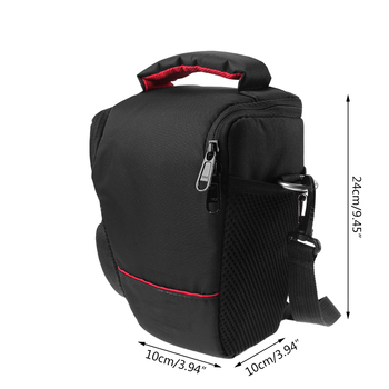 DSLR Camera Bag Case For Canon EOS 4000D M50 M6 200D 1300D 1200D 1500D 77D 800D 80D Nikon D3400 D5300 760D 750D 700D 600D 550D зеркальная фотокамера canon eos 4000d kit 18 55mm 24mp черный 3011c003