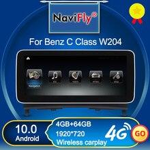 Top! Lecteur multimédia sans fil pour voiture Benz, pour Benz classe C W204 C180 C200 C220 C300 10.0 2008 2009 NTG 2010, Android 4.0