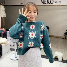 Лидер продаж 2020 новый Рождественский свитер женский зимний