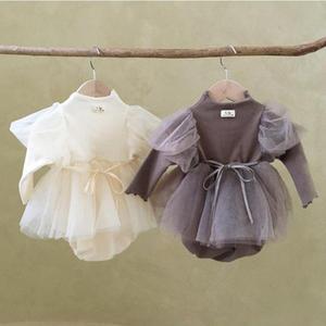 Dziewczynka body noworodka księżniczka sukienka dla dzieci na dziewczynę 1 urodziny wesele niemowlę dziewczynka ubrania bawełniana sukienka chrzest