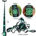 Незаменимый может держать 200 кг вне двери кемпинга пешего туризма гамак висячий ремень гамак ремень веревка