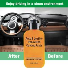 Leather Repair Cream Automotive Interior Car & Leather Refurbished Coating Paste Maintenance Agent Leather Refurbishment Cleaner цена