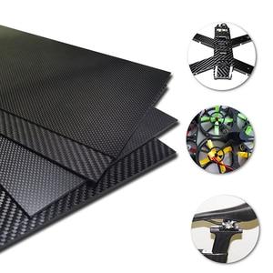 Image 2 - 400x500mm מפעל ישיר מכירה מלא 3K סיבי פחמן צלחת גיליון לוח פנל 40x50cm עובי 1 1.5 2 2.5 3 3.5 4 mm