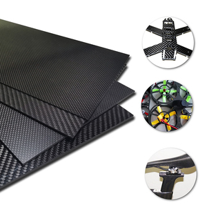 Image 2 - 400x500mm Factory direct sale Full 3K Carbon fiber Plate sheet Board panel 40x50cm thickness 1 1.5 2 2.5 3 3.5 4 mm