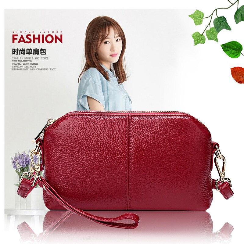New Style WOMEN'S Cow Leather Bag Shoulder Bag Fashion Shoulder Bag