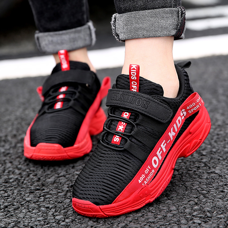 Fashion Kids Running Shoes Lightweight Boys Sneakers Summer Children Casual Shoes Breathable Non-slip Girls Tenis Sneakers 2021