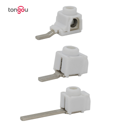 25 mm²  50PCS Terminals for Busbar Circuit Breaker Distribution Box Electrical Wire Connector TONGOU