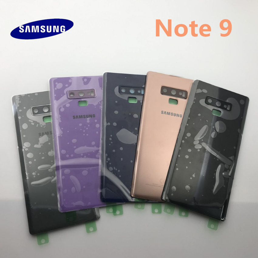 OME Samsung Galaxy NOTE 9 N960 N960F Back Battery Cover PC+Glass Housing Cover For Samsung Note9 Door Rear Case Replacemet