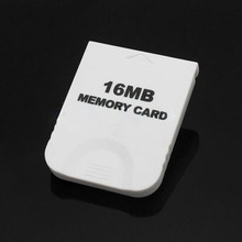 цена на Practical White Game 16MB Memory Card Block for Nintendo Wii Gamecube GC Game System Console 16M High Quality Game System Consol
