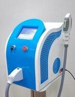 Przenośna maszyna shr ipl trwałe usuwanie włosów urządzenie pielęgnacyjne ipl odmładzanie skóry Pigment usuwanie plam starczych leczenie trądziku C w Depilatory od AGD na