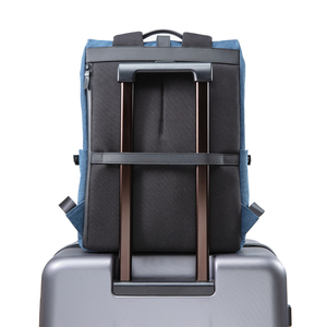 Image 5 - NINETYGO 90FUN Grinder Oxford Casual Backpack 15.6 inch Laptop Bag British Style Bagpack for Men Women School Boys Girls