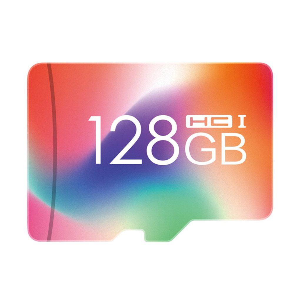 32G/64G/128G Colored High Speed Micro SD Memory Card TF Flash Fast Trasmission Large Capacity Memory Card For Mobile Phone