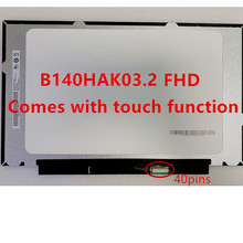 14.0 '' IPS FHD LCD Screen LED Panel Array with Integrated Touch B140HAK03.2 LP140WFB-SPK1 R140NWF5 RA 1920x1080 40 pin