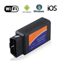 цена на ELM327 V1.5 OBD2 WIFI Scanner ELM327 WI-FI OBDII elm 327 V 1.5 OBD 2 Car Diagnostic Auto Tool ODB2 Code Reader For Android/IOS