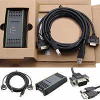 PC adaptador USB Cable adaptador de Cable para Siemens S7-200/300/400 RS485 Profibus/MPI/PPI 9-pin para reemplazar Siemens 6ES7972-0CB20-0XA0