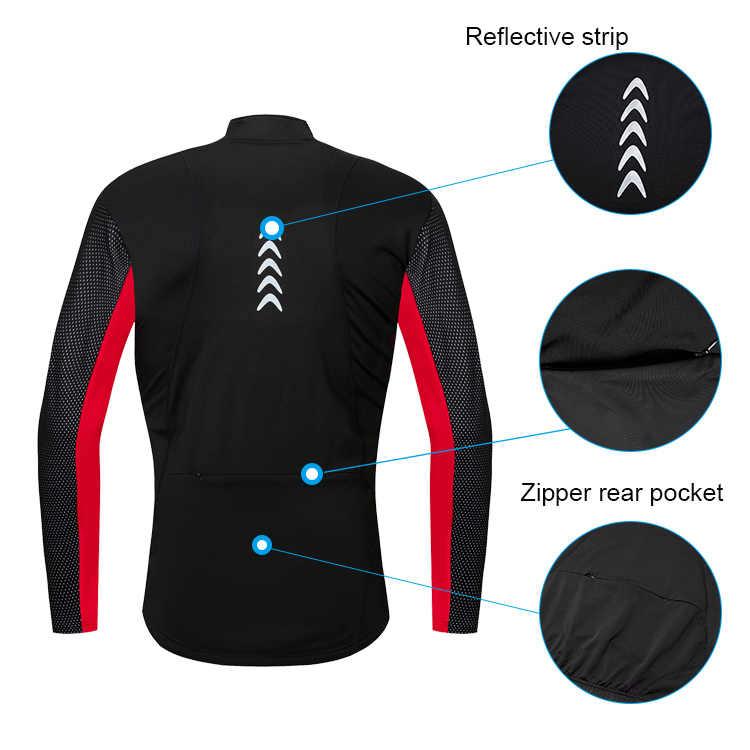 Softshell Winter Fietsen Jacket Mannen Vrouwen Bike Coat Winddicht Fiets Jersey Rood/blauw/groen M-3XL Thermische Fleece Cyclus jas