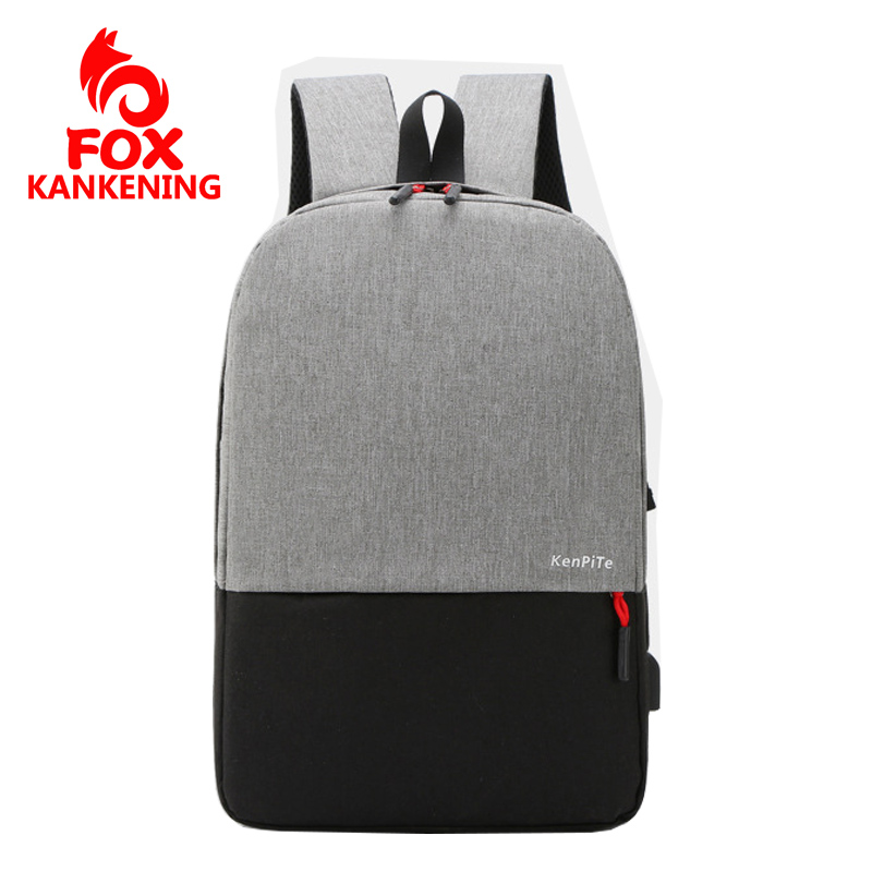 FOX KANKENING Laptop Backpack Men Multifunction USB Charging Design Travel Backpack Mochila Hombre Business Leisure Women Bag image