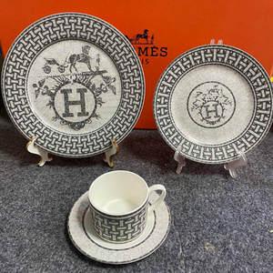 Porcelain Tableware Dishes Plates Nordic Kitchen China European-Style-Bone And Ceramic