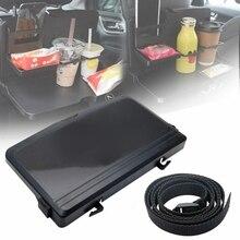 Drink-Holder Dining-Table Car-Back-Seat Folding Desk-Tray Bottle-Cup Universal Travel