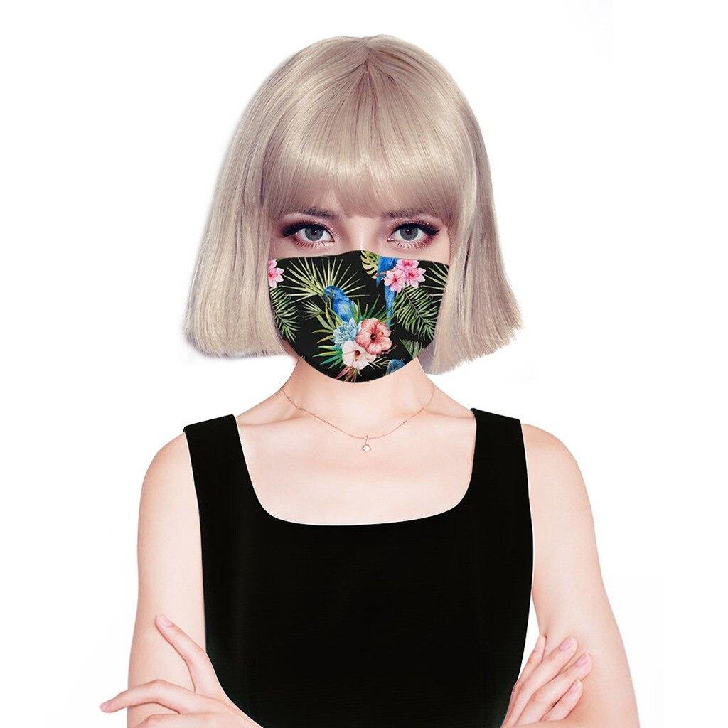 H568f7a51ff454b72aa9e05cba2458924A adult facemask flower print adjustable cotton maske mondkapje maska tapabocas dropshipping
