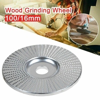 4 Inch 100X16MM Angle Grinder Wood Grinding Wheel Sanding Shaping Carving Disc|Grinding Wheels| |  -