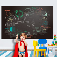 Wall Sticker Whiteboard Chalk Board Self-adhesive Writing Blackboard Removable Decal For Office School Home