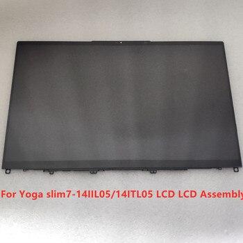 "14""Inch UHD 3840*2160 LCD Assembly B140ZAN01.3 Fru 5D10S39647 For Lenovo Yoga Slim 7-14IIL05 4ITL05 Laptop 1"