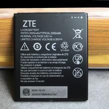 2020 новый оригинальный 2050 мА/ч Батарея zte li3820t43p4h695945