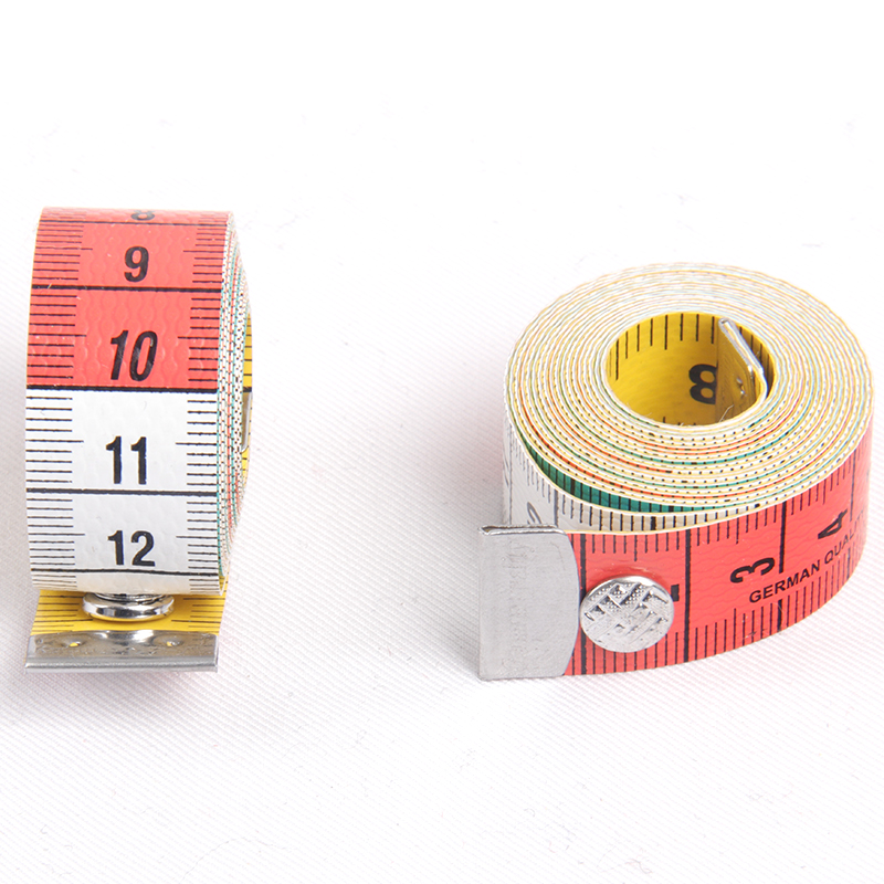 Measurement Tape With Buttons For Tailors in centimetre and inch High Quality Durable Body Measuring Ruler Tailor's Tape Measure