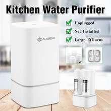 Filtro purificador de agua de 4 etapas, sistema de filtración de agua potable, ósmosis inversa, para cocina o hogar