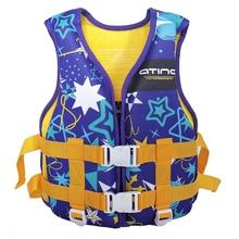Neoprene 25-40 Kg Buoyancy Suit Life Jacket Swimming Breathable Kids Learning Activities Children's Life Jacket Dive