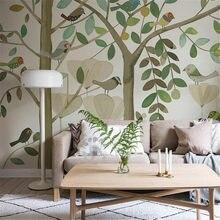 Xuesu personalizado quarto das crianças papel de parede mural menino fundo decoração da pintura
