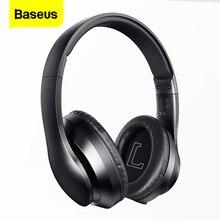 Baseus D07 auriculares, inalámbricos por Bluetooth 5,0, auriculares manos libres de Mega graves para iPhone, Xiaomi, Huawei