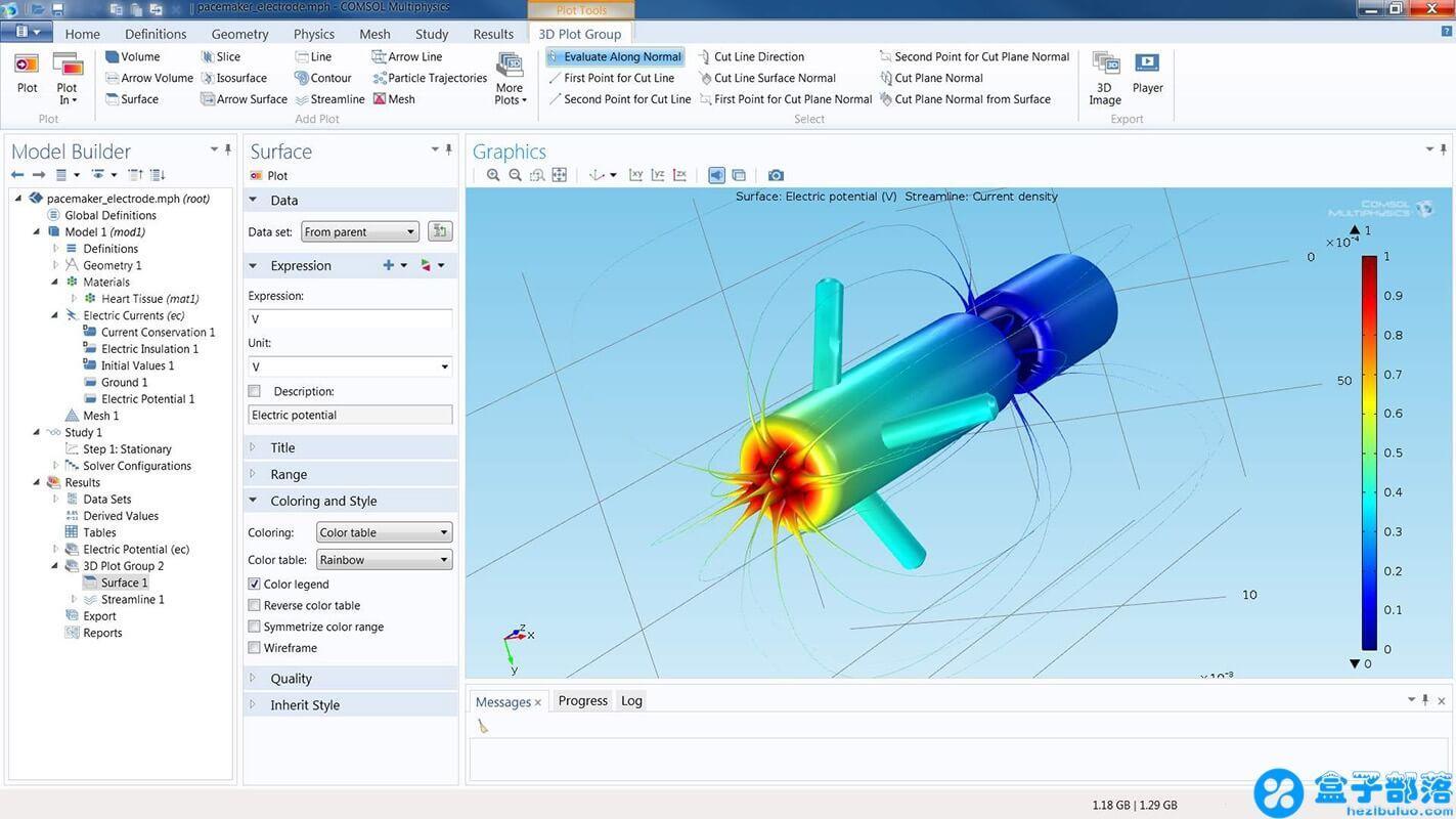 COMSOL Multiphysics 5.4 数值模拟物理场仿真平台