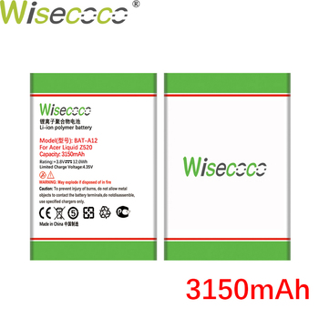WISECOCO 3150mAh BAT-A12 Battery For Acer Liquid Z520 Mobile Phone igh Quality +Tracking Number image