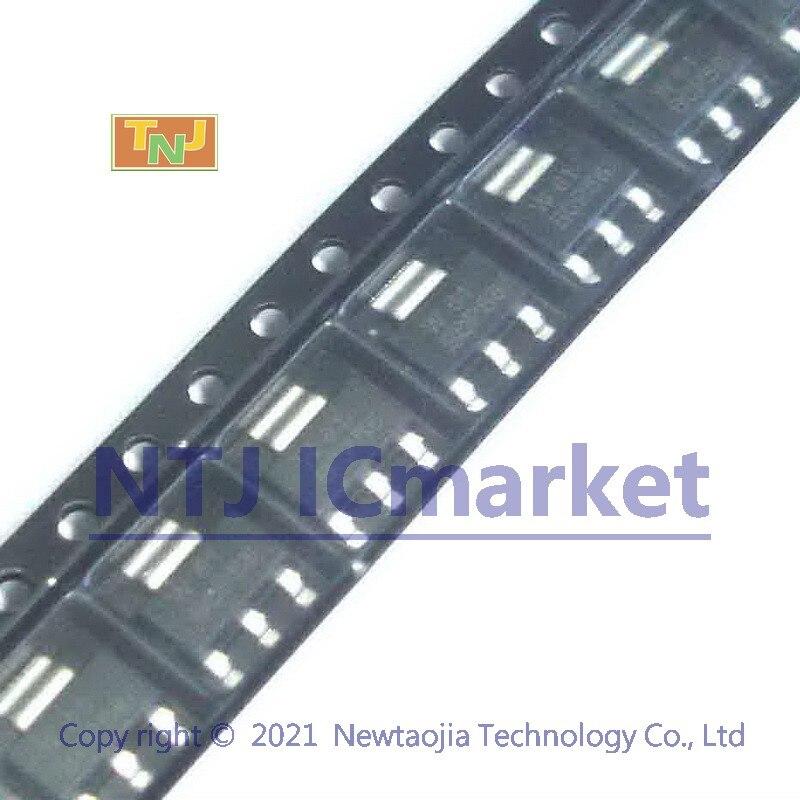 Транзисторы средней мощности BCP56 SOT-223 NPN, 50 шт.