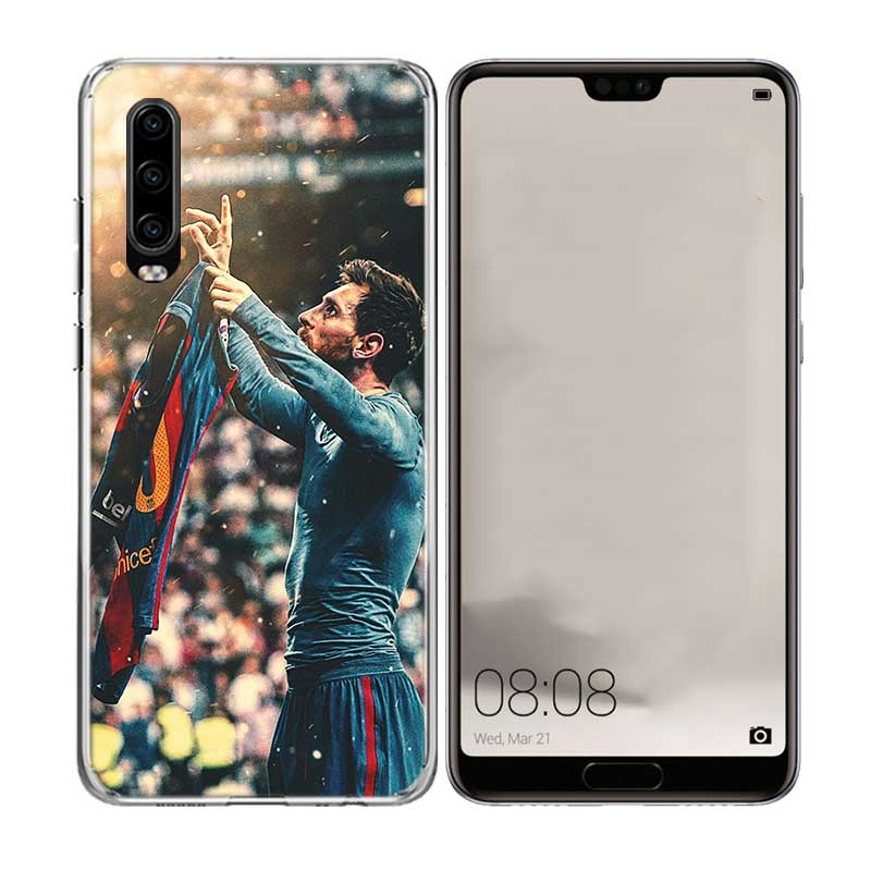 Uyellow Soft Phone Case For Huawei P10 P20 P30 Lite Pro Hawei Mate 10 20 lite Hawei P Smart Plus 2019 Lionel Messi LM10 Cover in Fitted Cases from Cellphones Telecommunications