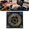 Constellation Ta-rot Pad Dowsing Board Divination Metaphysical Altar Ta-rot Game Tafelkleed Supplies,Square Shape