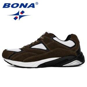 Image 4 - Bona 2019 novo designer dos homens tênis respirável krasovki sapatos homem super leve sapatos casuais masculino tenis masculino lazer calçado