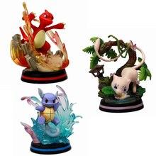 Wartortle yeni Charmeleon eylem oyuncak figürler oyuncak modeli koleksiyonu çocuklar hediye için 13cm