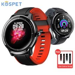 Kospet sonda inteligentny zegarek 1.3 Cal w pełni dotykowy ekran IP68 wodoodporny Smartwatch sportowy 15 dni żywotność baterii pulsometr