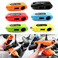 New Motorcycle Handlebar Brake Lever Grip Throttle Cap Lock Security Anti Theft Brand New And High Quality