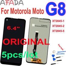 """5 шт оригинальный 64 """"ЖК дисплей для motorola moto g8 xt2045"""