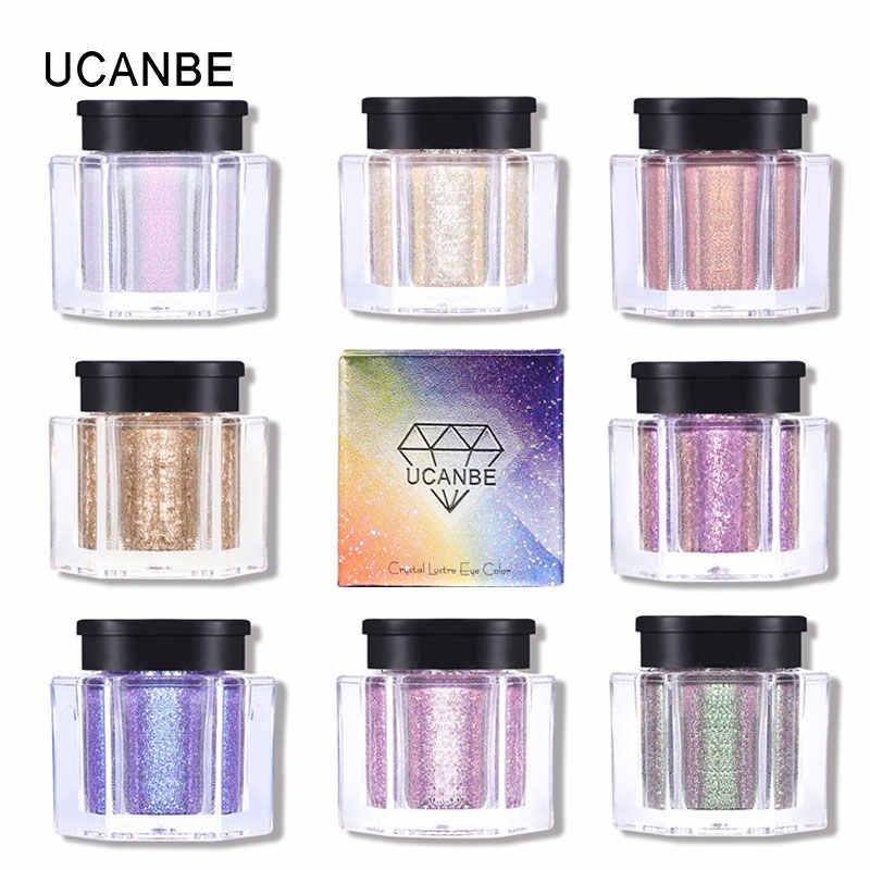 Miss Rose Diamond Glitter Oogschaduw 24 Kleuren Enkele Palet Illuminator Make Shimmer Metalen Oogschaduw Glans Pigment Cosmetica