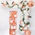 Детская прозрачная коробка для душа для мальчиков и девочек, украшение для детского душа, декоративный шар на крестины для дня рождения, кор...